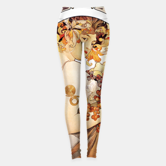 Miniature de image de Alphonse Mucha Lady With Fruit Leggings, Live Heroes