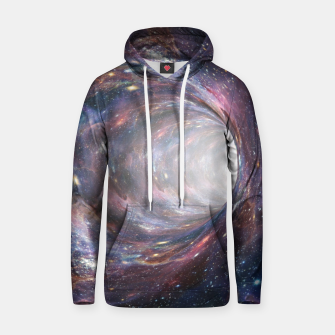 Thumbnail image of The Wormhole - Beautiful Universe Cotton hoodie, Live Heroes