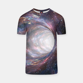 Thumbnail image of The Wormhole - Beautiful Universe T-shirt, Live Heroes