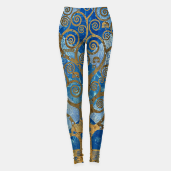 Miniature de image de Klimt Tree Leggings, Live Heroes
