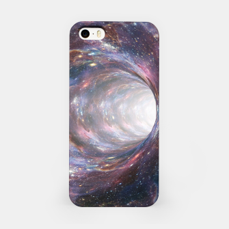 Thumbnail image of The Wormhole - Beautiful Universe iPhone Case, Live Heroes
