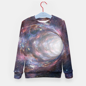 Thumbnail image of The Wormhole - Beautiful Universe Kid's sweater, Live Heroes