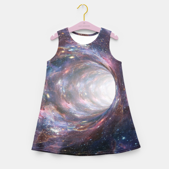 Thumbnail image of The Wormhole - Beautiful Universe Girl's summer dress, Live Heroes