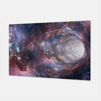 Thumbnail image of The Wormhole - Beautiful Universe Canvas, Live Heroes