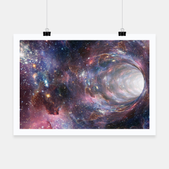 Thumbnail image of The Wormhole - Beautiful Universe Poster, Live Heroes