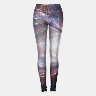 Thumbnail image of The Wormhole - Beautiful Universe Leggings, Live Heroes
