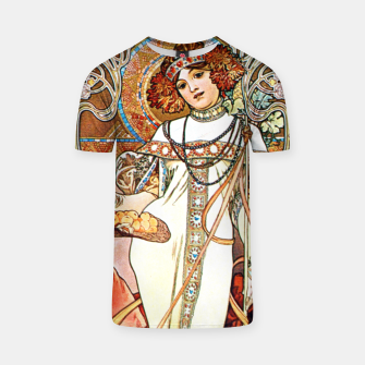 Thumbnail image of Alphonse-Mucha - L'Automne T-shirt, Live Heroes