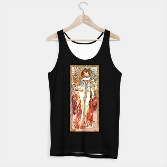 Thumbnail image of Alphonse-Mucha - L'Automne Tank Top regular, Live Heroes