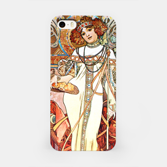 Thumbnail image of Alphonse-Mucha - L'Automne iPhone Case, Live Heroes