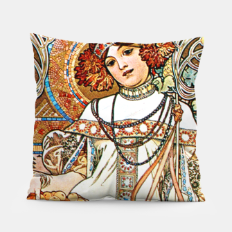 Thumbnail image of Alphonse-Mucha - L'Automne Pillow, Live Heroes
