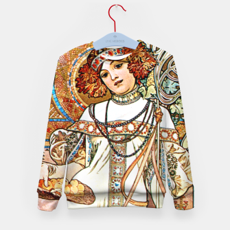 Thumbnail image of Alphonse-Mucha - L'Automne Kid's sweater, Live Heroes