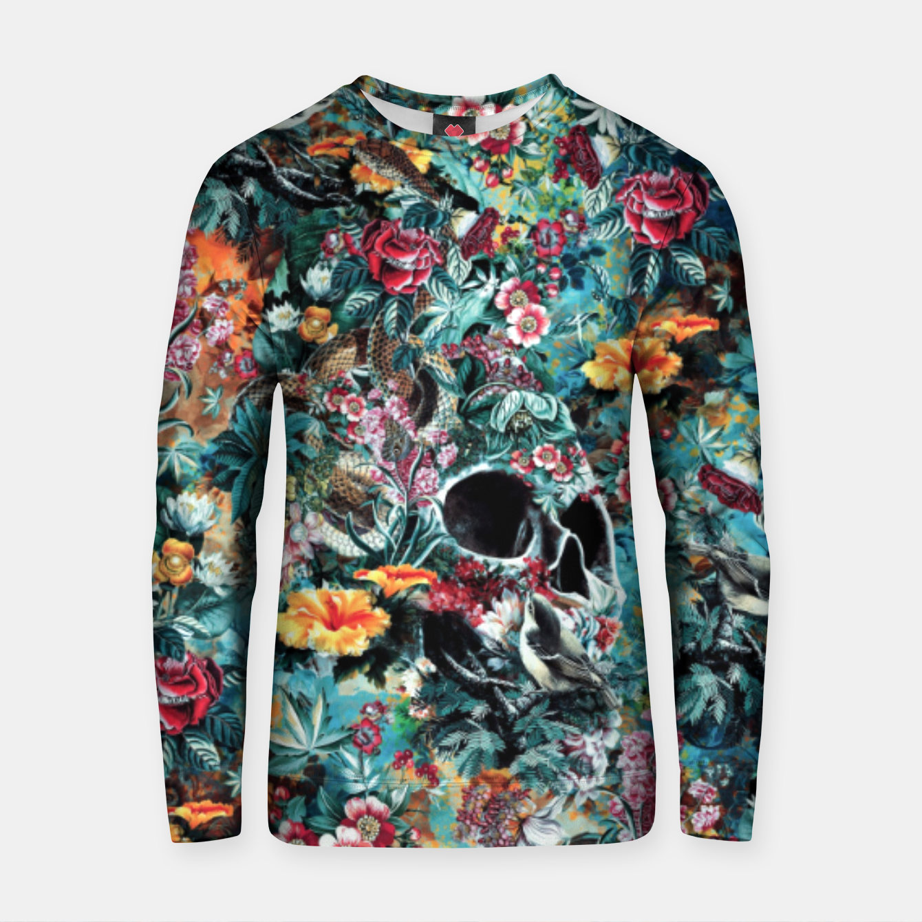 Image of Skull Forest Cotton sweater - Live Heroes