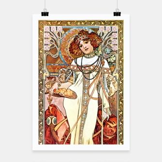 Thumbnail image of Alphonse-Mucha - L'Automne Poster, Live Heroes
