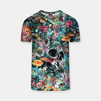 Thumbnail image of Skull Forest T-shirt, Live Heroes
