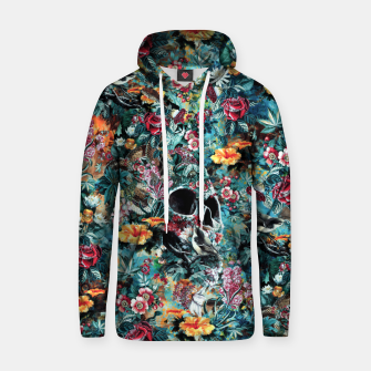 Thumbnail image of Skull Forest Cotton hoodie, Live Heroes