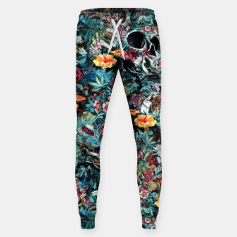 Thumbnail image of Skull Forest Cotton sweatpants, Live Heroes