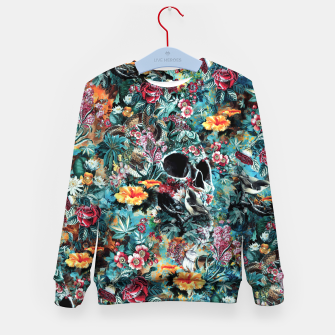 Thumbnail image of Skull Forest Kid's sweater, Live Heroes