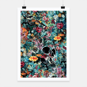 Thumbnail image of Skull Forest Poster, Live Heroes