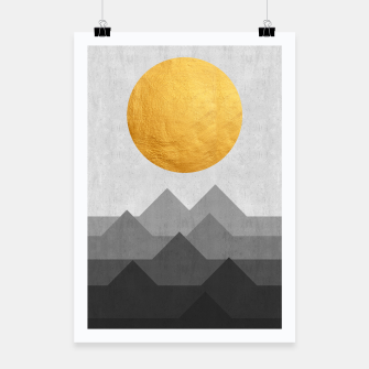 Thumbnail image of Golden Sunset Poster, Live Heroes
