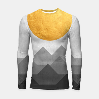 Thumbnail image of Golden Sunset Longsleeve rashguard , Live Heroes