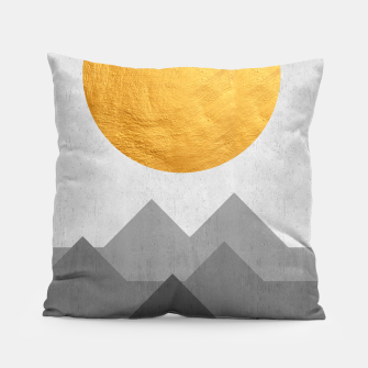 Thumbnail image of Golden Sunset Pillow, Live Heroes