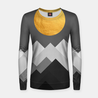 Thumbnail image of Golden Sunset I Woman cotton sweater, Live Heroes