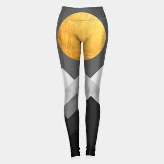 Thumbnail image of Golden Sunset I Leggings, Live Heroes