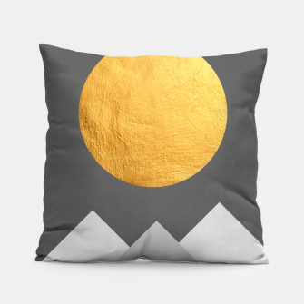 Thumbnail image of Golden Sunset I Pillow, Live Heroes