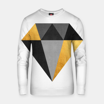 Thumbnail image of Diamond with gold Cotton sweater, Live Heroes