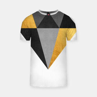 Thumbnail image of Diamond with gold T-shirt, Live Heroes