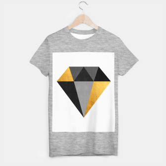 Thumbnail image of Diamond with gold T-shirt regular, Live Heroes