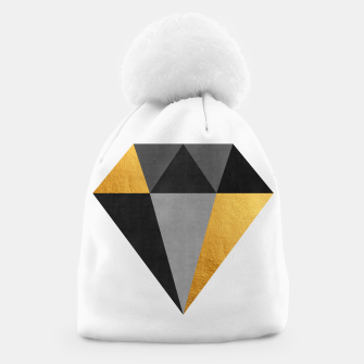 Miniaturka Diamond with gold Beanie, Live Heroes