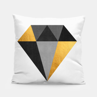 Thumbnail image of Diamond with gold Pillow, Live Heroes