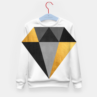 Thumbnail image of Diamond with gold Kid's sweater, Live Heroes