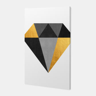 Thumbnail image of Diamond with gold Canvas, Live Heroes