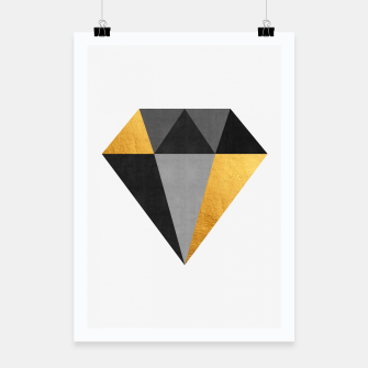 Thumbnail image of Diamond with gold Poster, Live Heroes