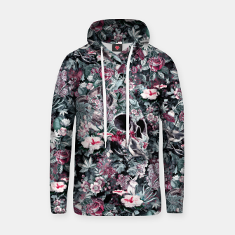 Thumbnail image of Skull Forest II Cotton hoodie, Live Heroes