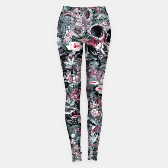 Thumbnail image of Skull Forest II Leggings, Live Heroes