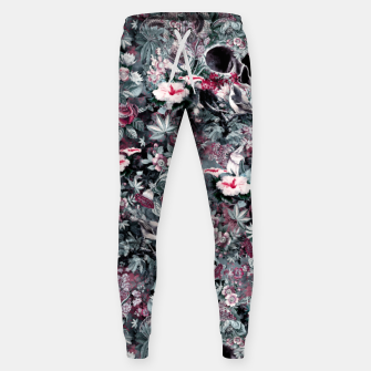Thumbnail image of Skull Forest II Cotton sweatpants, Live Heroes