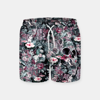 Thumbnail image of Skull Forest II Swim Shorts, Live Heroes