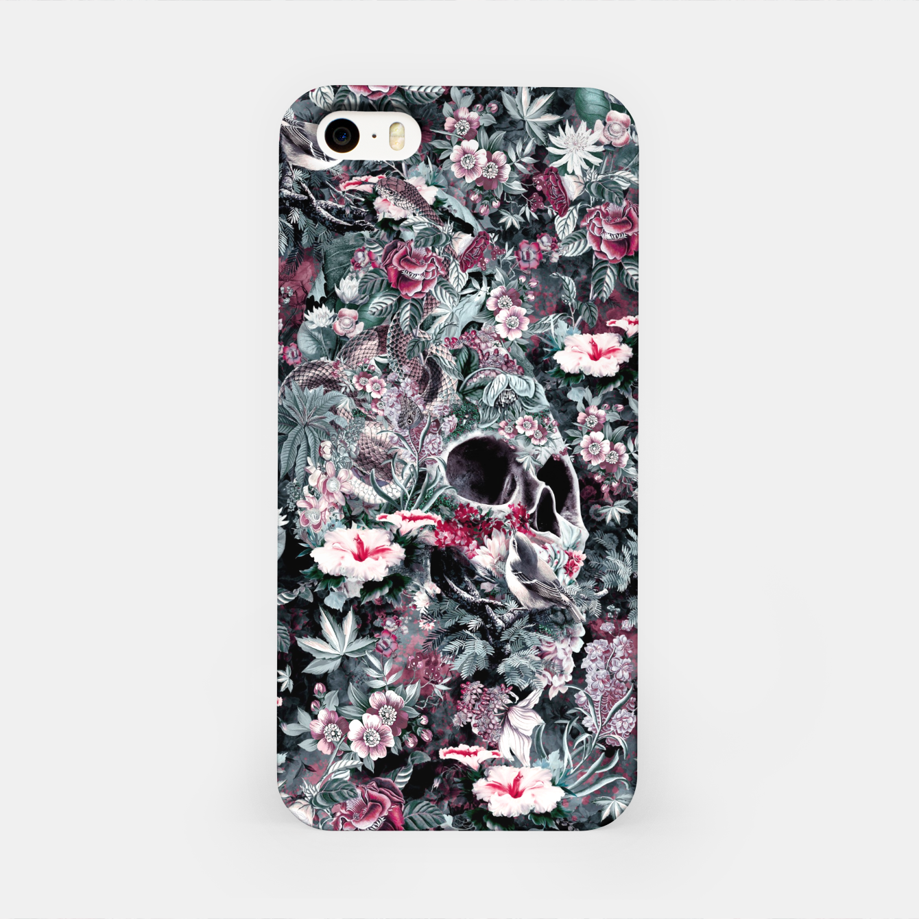 Image of Skull Forest II iPhone Case - Live Heroes