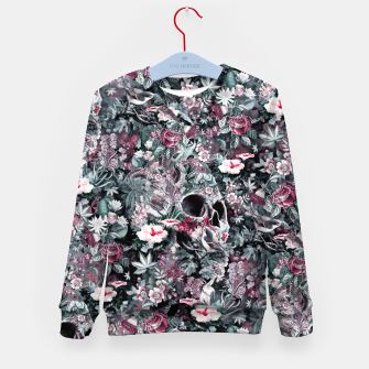 Thumbnail image of Skull Forest II Kid's sweater, Live Heroes
