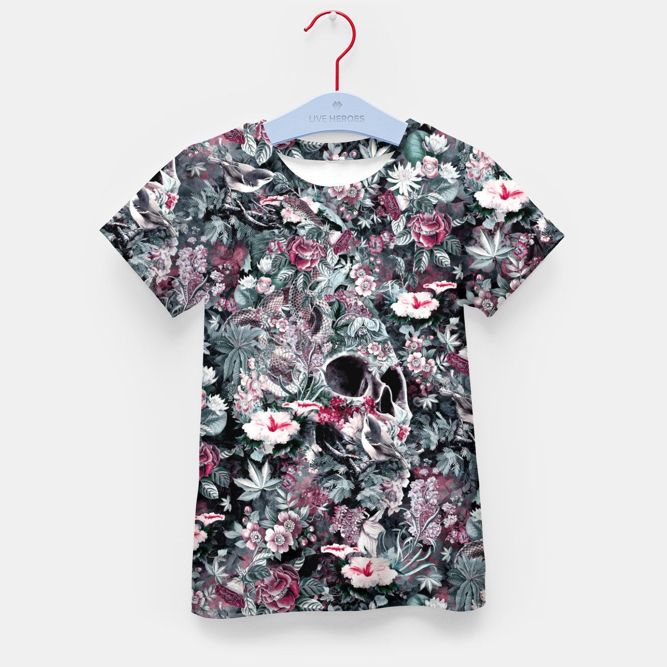Image of Skull Forest II Kid's t-shirt - Live Heroes