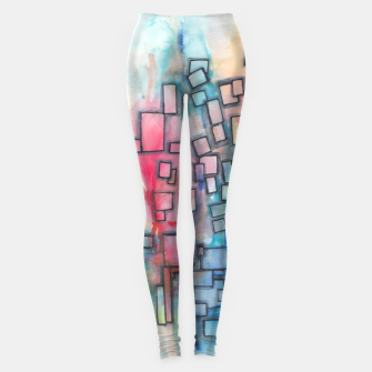 Imagen en miniatura de Color Squares Fall Leggings, Live Heroes