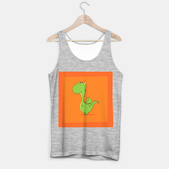 Mommy's Little Dragon! Tank Top regular imagen en miniatura