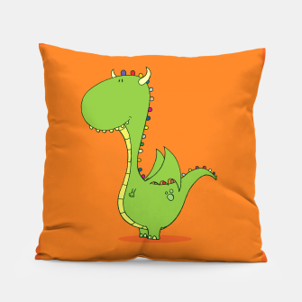 Mommy's Little Dragon! Pillow imagen en miniatura