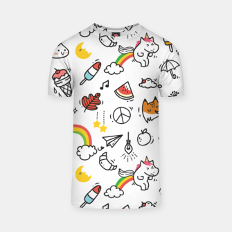 Licorne T-shirt miniature