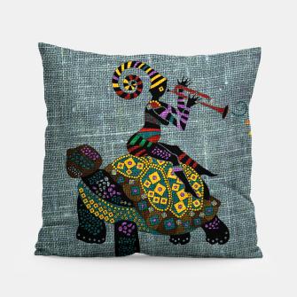 Miniatur African fantasy Pillow, Live Heroes