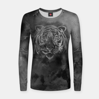Imagen en miniatura de Grey tiger Woman cotton sweater, Live Heroes