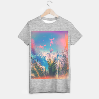 Silvery Skies T-shirt regular Bild der Miniatur